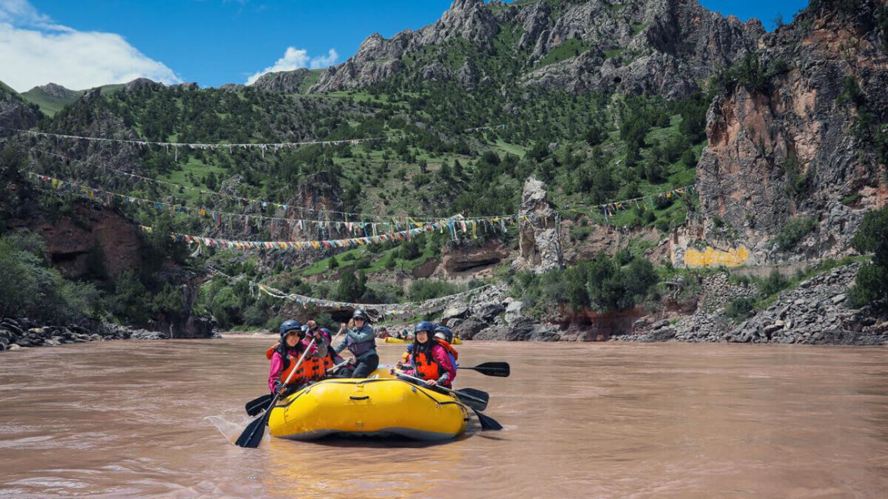 Finding Daqu - Whitewater Rafting through China | Strung Magazine